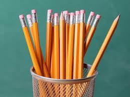 SAT ACT pencils