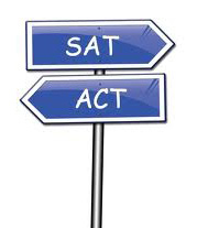 SAT ACT signage