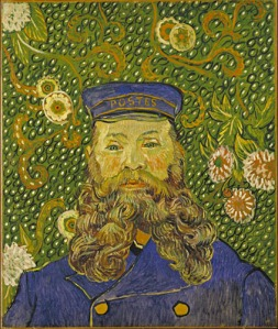 Portrait of Joseph Roulin, Vincent van Gogh, 1889