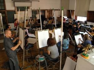 MassArt Foundations Class