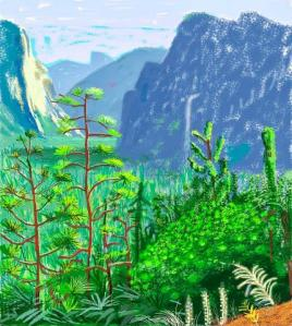 Yosemite 1 (c) David Hockney