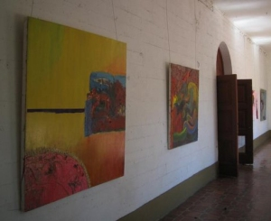 Hallway gallery space