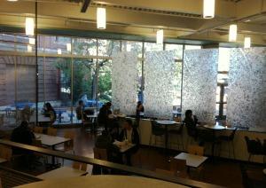 MassArt cafeteria