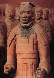 Chinese statues, Chin Dynasty