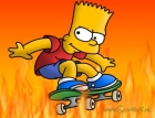 animation - bart simpson