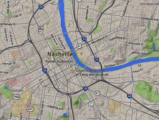 Nashville map 4