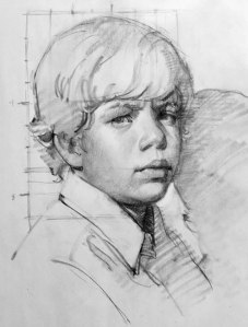 boy drawing by accurasee art products