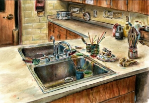 kitchen sink - d'albon high school 2013