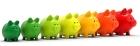 scholarship piggy banks from Fastweb