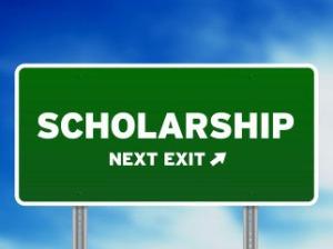 scholarship signage