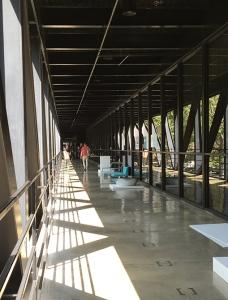 Art Center walkway 2