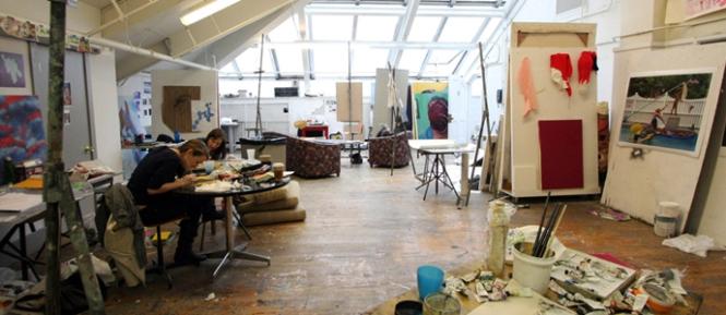 Upperclassmen studio space
