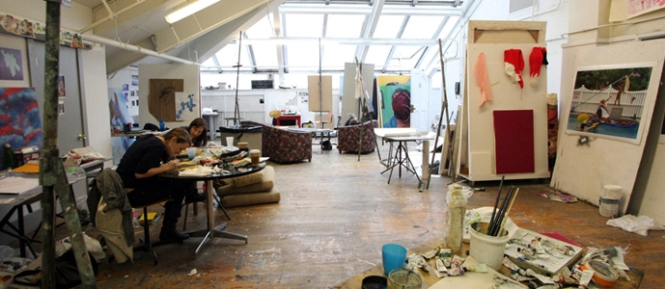 Upperclassmen studio space