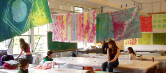 University of Washington textile studio